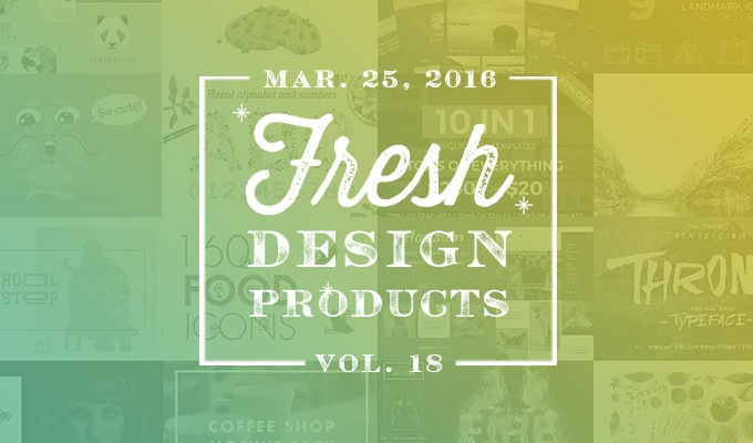 This Week's Fresh Design Products: Vol. 18