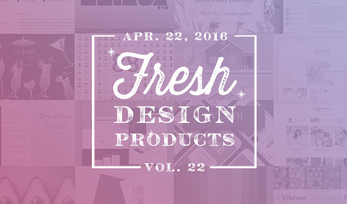 This Week's Fresh Design Products: Vol. 22