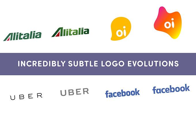 10 Incredibly Subtle Logo Evolutions