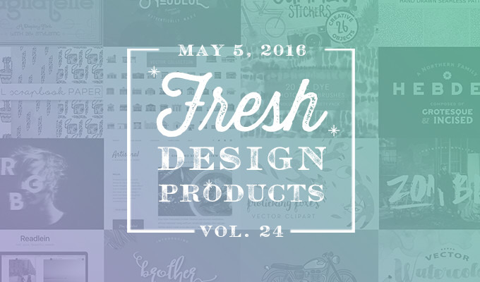 This Week's Fresh Design Products: Vol. 24