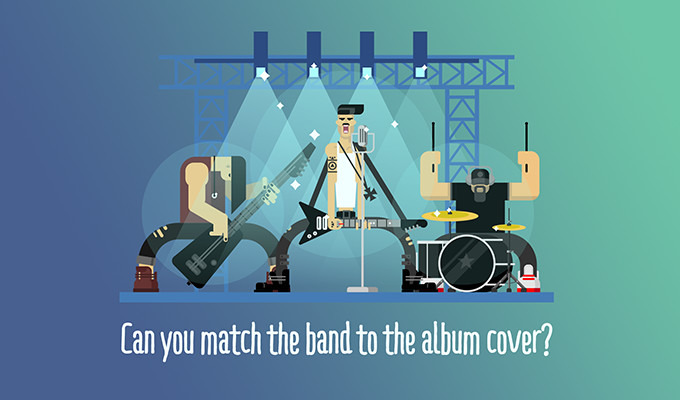 Quiz: Can You Match the Band to the Album Cover Design?