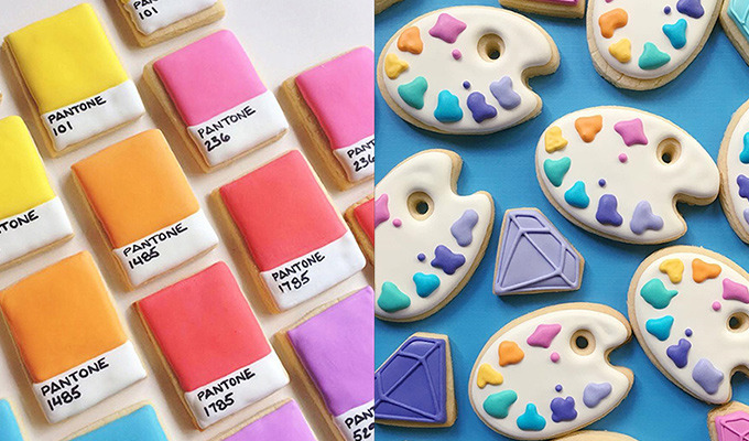 These Pantone Cookies Are a Designer's Sweet Treat