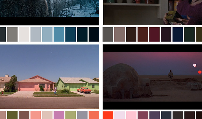 Powerful Color Palettes From Classic Films Beautifully Convey Tone