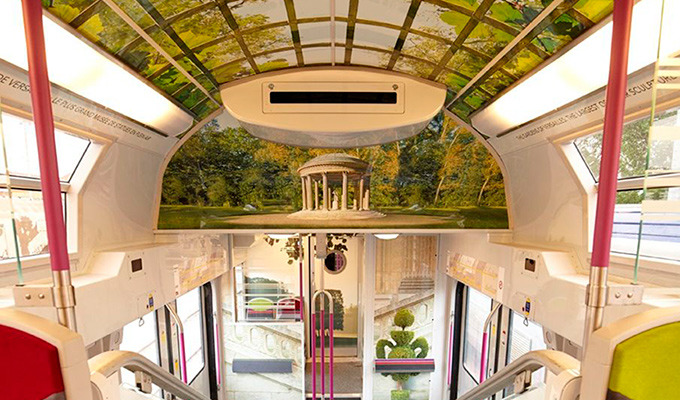 France Transforms Trains Into Immersive Museum Experiences