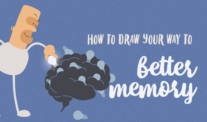 How To Draw Your Way To Drastically Better Memory
