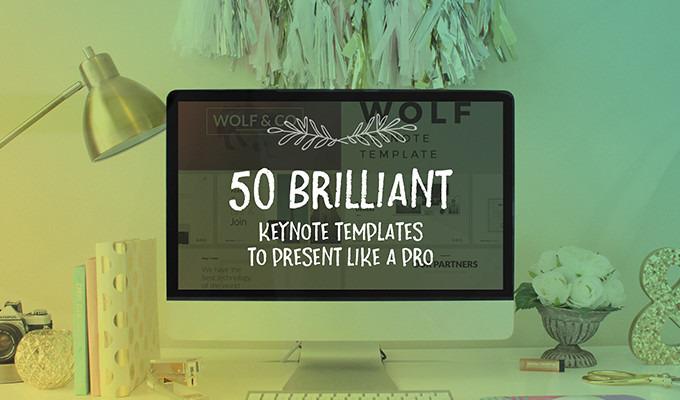 50 Brilliant Keynote Templates To Present Like a Pro