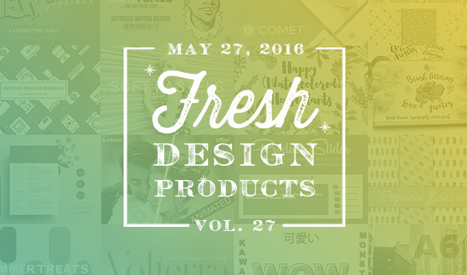 This Week's Fresh Design Products: Vol. 27