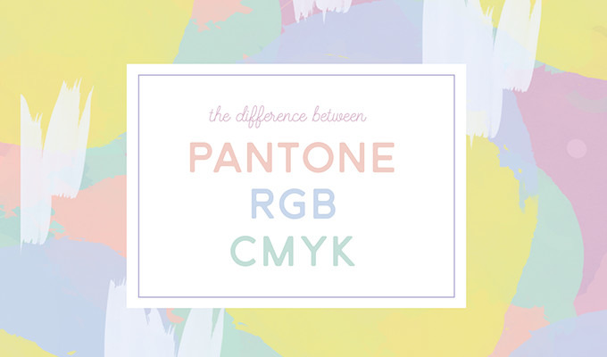 What's the Difference Between Pantone, CMYK, and RGB Colors?