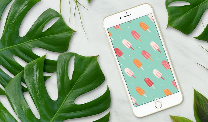 Free Smartphone Wallpaper: Summer Lovin'