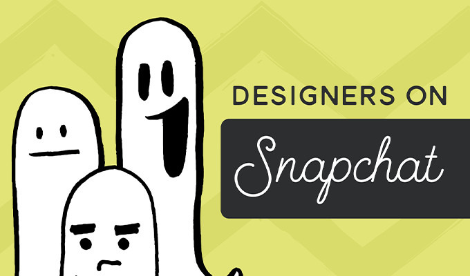 20 Designers & Creatives to Follow on Snapchat Right Now