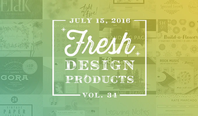 This week 39 s fresh design products vol 34 creative for Fresh design blog