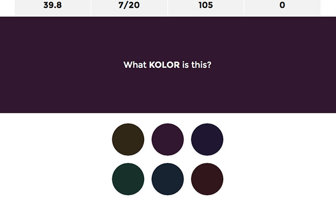 Test Your Color Matching Skills With This Difficult Quiz