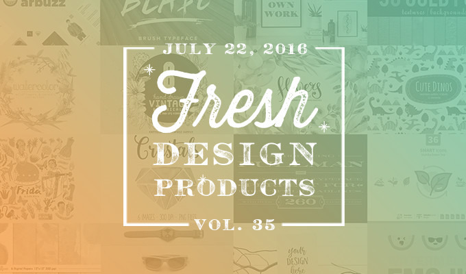 This Week's Fresh Design Products: Vol. 35