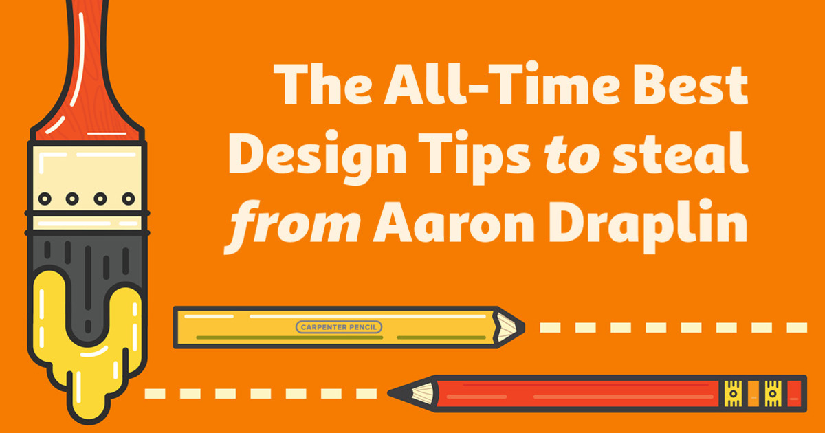 the all time best design tips to steal from aaron draplin creative market blog. Black Bedroom Furniture Sets. Home Design Ideas