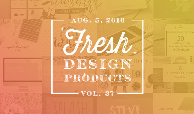 This Week's Fresh Design Products: Vol. 37