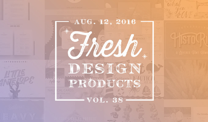 This Week's Fresh Design Products: Vol. 38