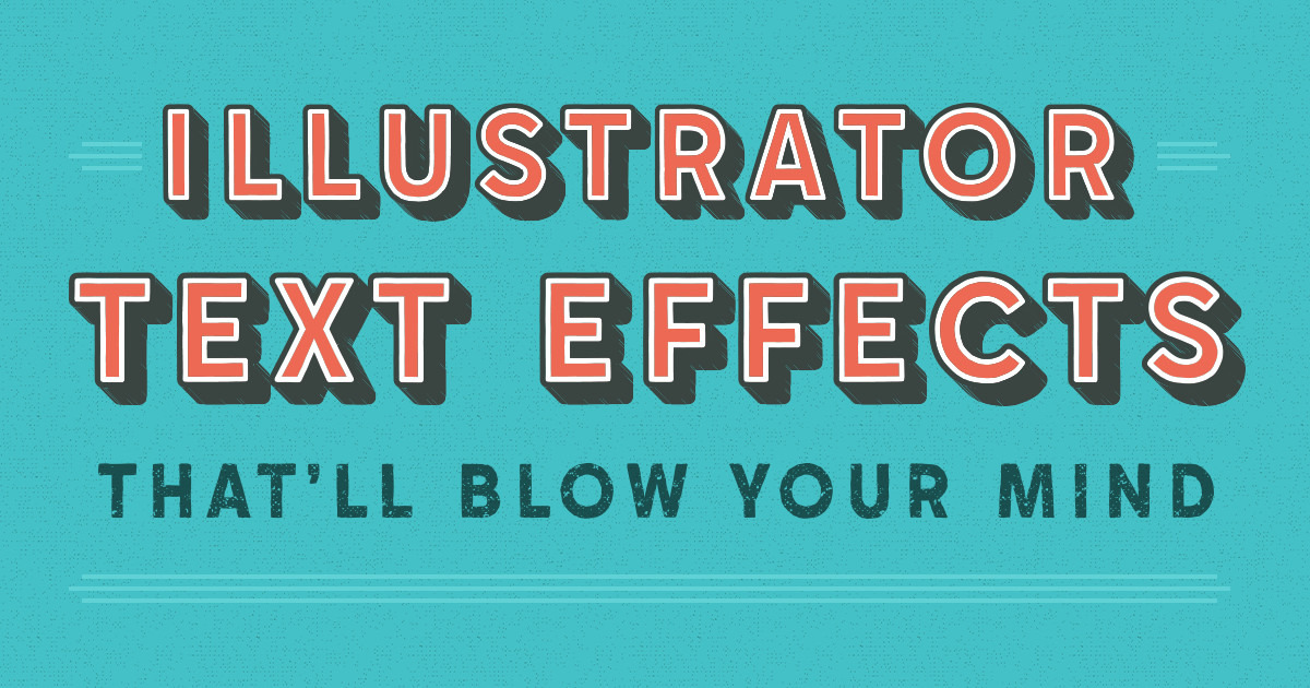 20 illustrator text effects that 39 ll blow your mind creative market blog. Black Bedroom Furniture Sets. Home Design Ideas