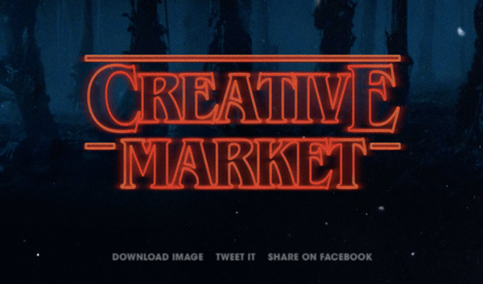 """Build Your Own """"Stranger Things"""" Logo with This Type Generator"""