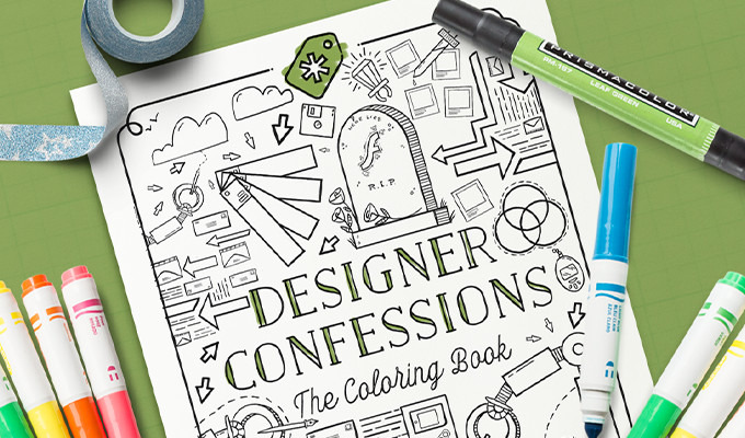 Free Coloring Book for Designers