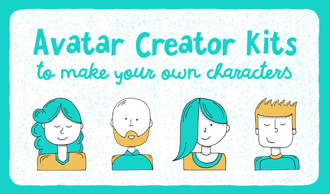 avatar creator kits to make your own characters creative market blog