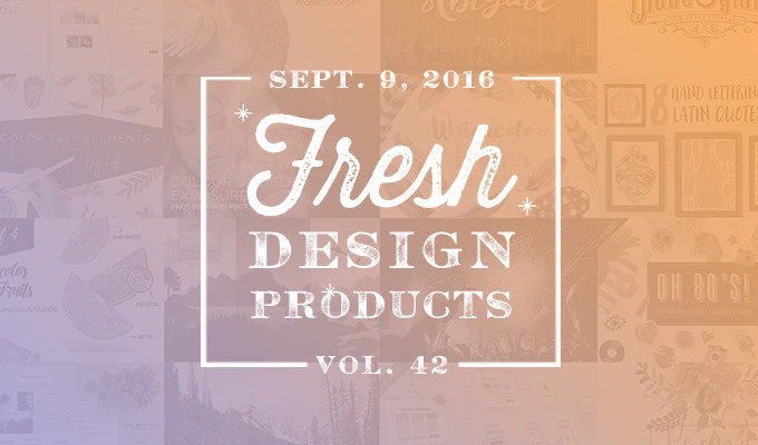 This Week's Fresh Design Products: Vol. 42