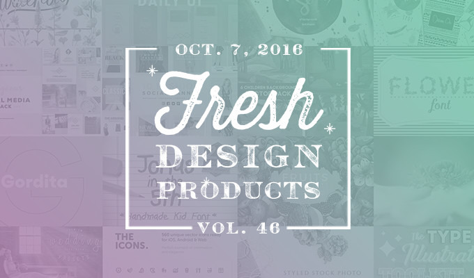 This Week's Fresh Design Products: Vol. 46