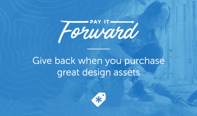 Help Natural Disaster Victims When You Buy Great Design Assets