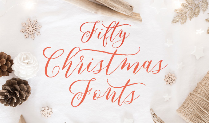 Christmas fonts for all your holiday designs creative