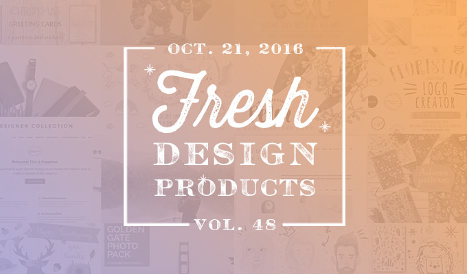 This Week's Fresh Design Products: Vol. 48