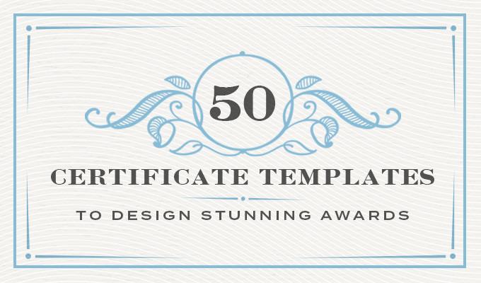 50 Certificate Templates To Design Stunning Awards Creative Market Blog