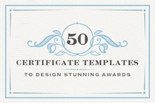 50 Certificate Templates to Design Stunning Awards
