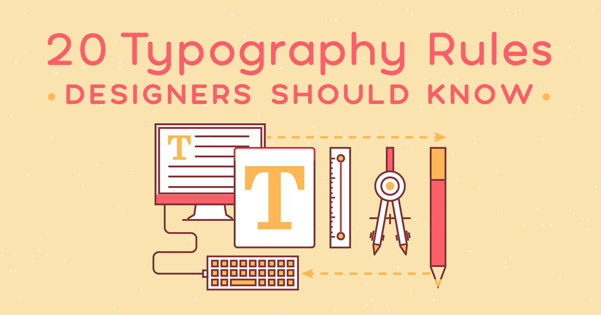 20 typography rules every designer should know creative market blog