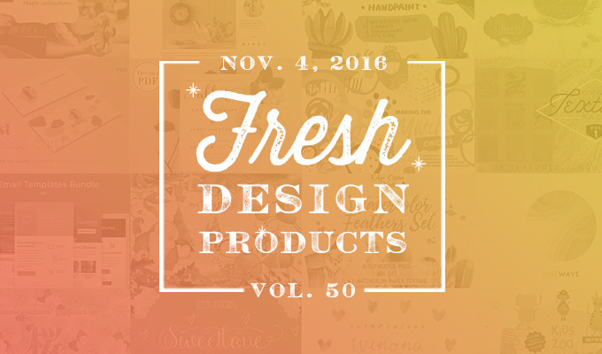 This Week's Fresh Design Products: Vol. 50