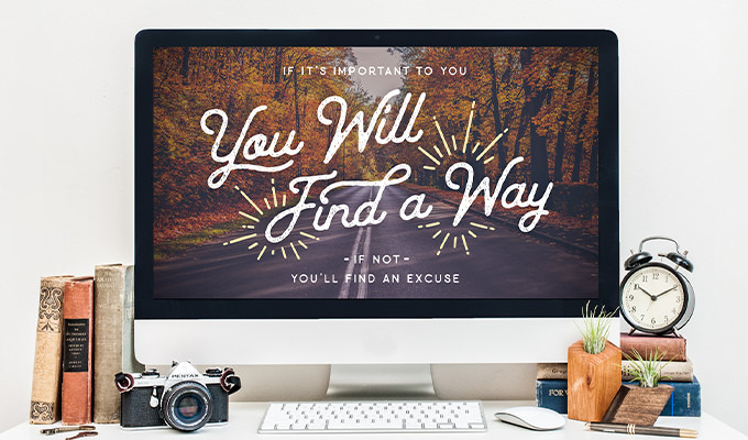 Free Desktop & Phone Background: You Will Find a Way