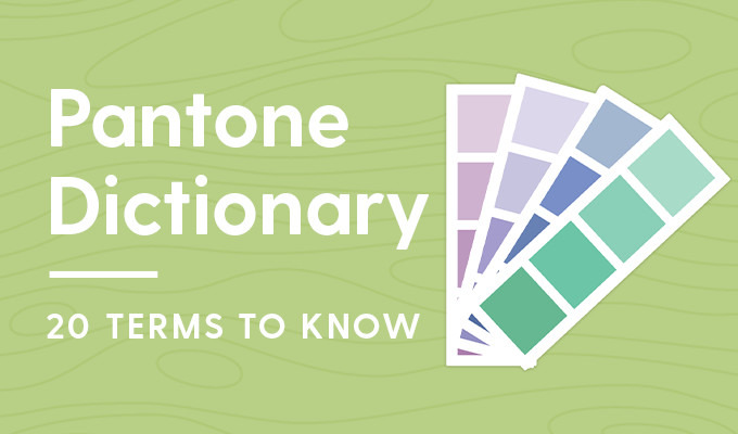 Pantone Dictionary: 20 Terms You Should Know and Understand