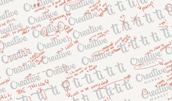 Crafting Creative Market's Refreshed Logo