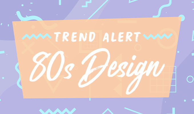 80s Design Trends 20 Amazing Posters Creative Market Blog