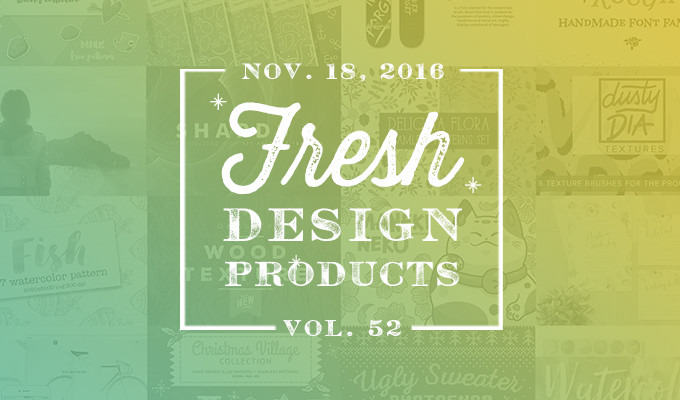 This Week's Fresh Design Products: Vol. 52