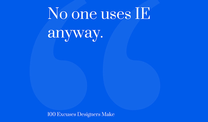 9 Ready-To-Use Excuses For Designers