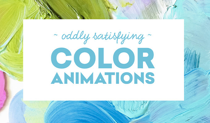 22 Oddly Satisfying Animations for Anyone Obsessed with Color