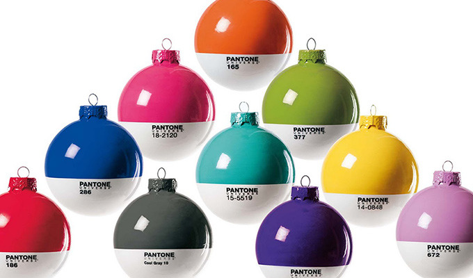 These Pantone Christmas Ornaments will Spruce Up Your Christmas Tree