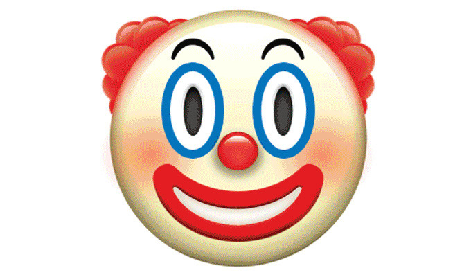The Clown Emoji That Will Give You Nightmares + The Rest of Apple's New Emoji