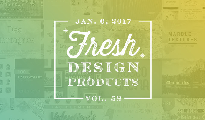 This Week's Fresh Design Products: Vol. 58