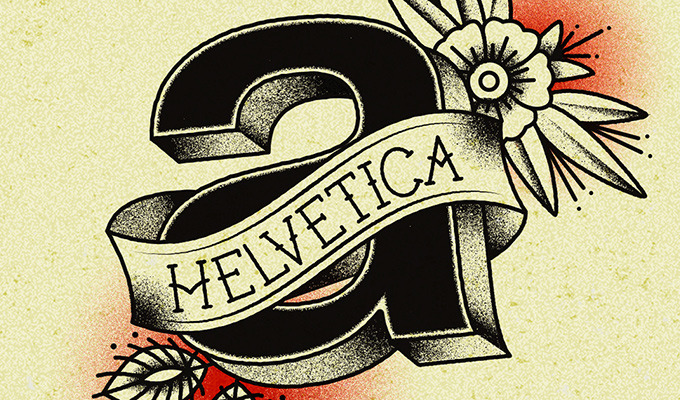 Traditional Style and Modern Typefaces Come Together In These Unique Tattoo Designs