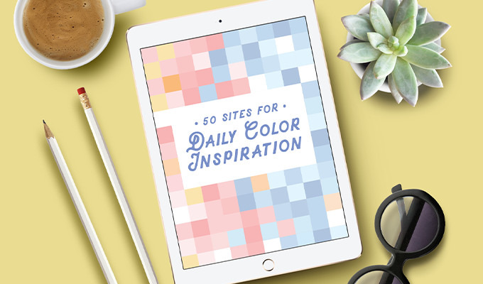 50 Sites to Get Your Daily Dose of Color Inspiration