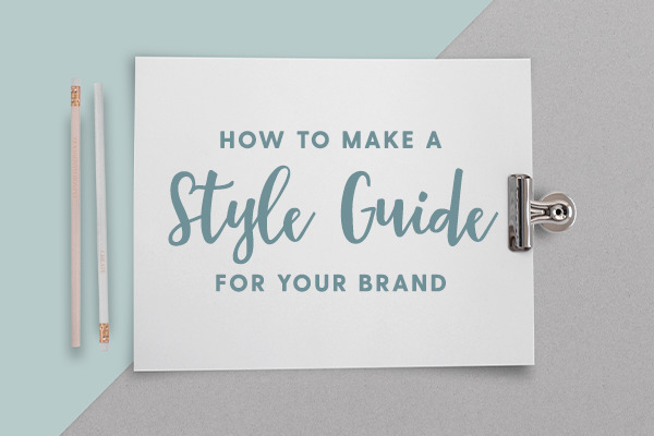 How to Design a Brand Style Guide