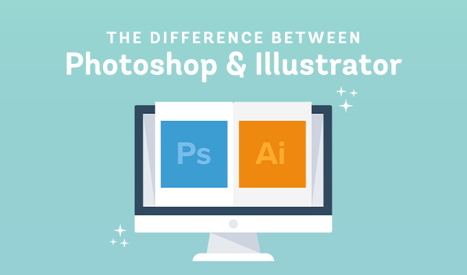 What's The Difference Between Photoshop and Illustrator?