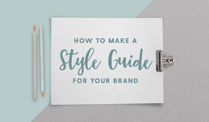 How to Create a One-Page Brand Style Guide