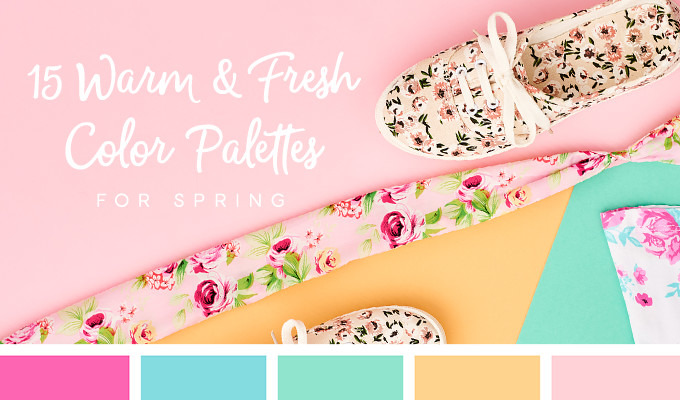 15 Fresh Color Palettes for Spring