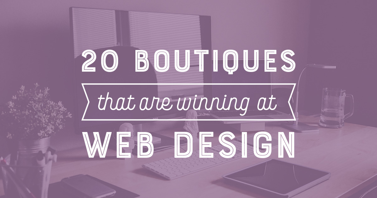 20 Boutiques That Are Winning at Web Design ~ Creative Market Blog